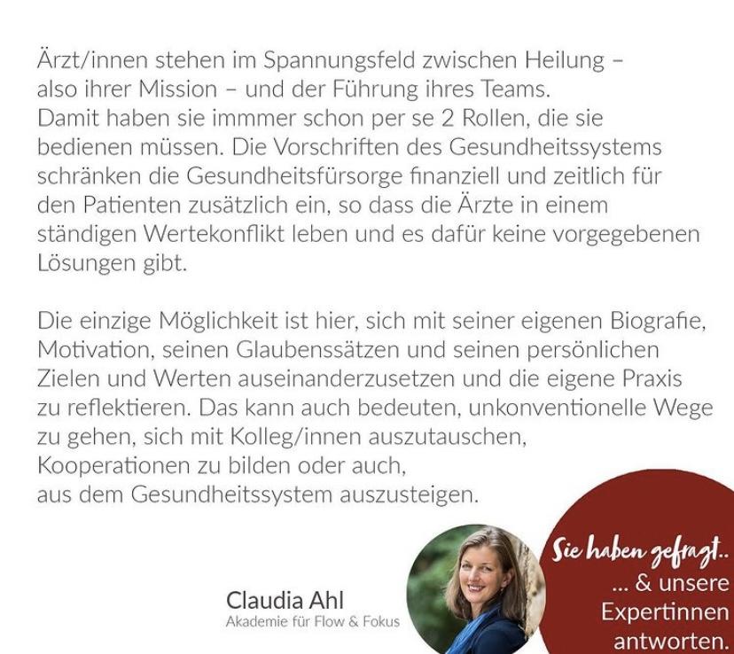 Claudia Ahl Blogbeitrag